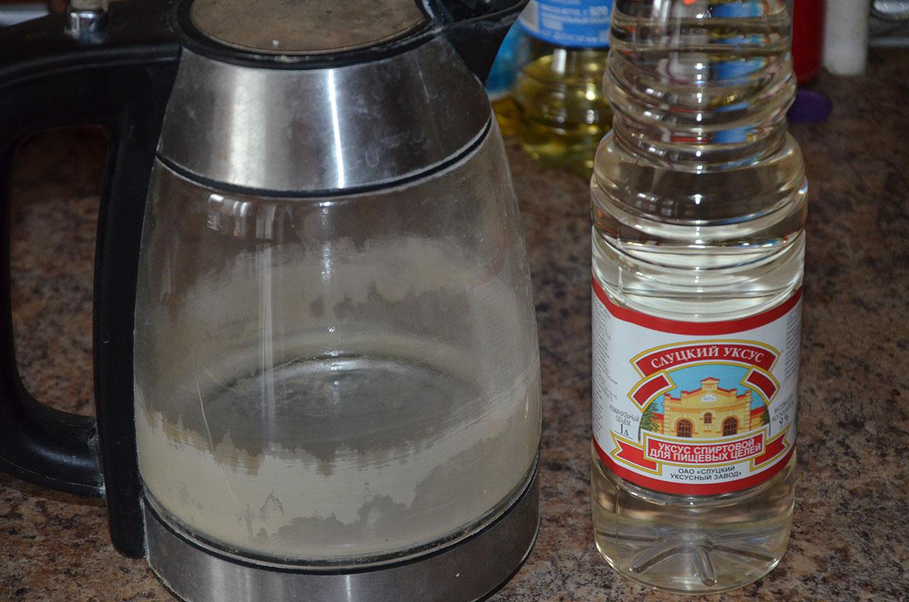 Как очистить чайник от 23