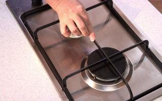 Как самостоятельно очистить решетку на газовой плите