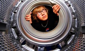 Как легко почистить резинку в стиральной машине