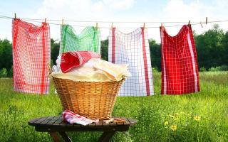 Как правильно стирать кухонные полотенца