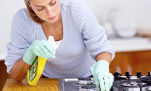 Как быстро почистить плиту от жира и нагара