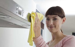 Как помыть вытяжку на кухне от жира быстро, просто и эффективно