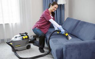 Чистка дивана от пятен в домашних условиях