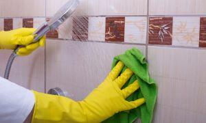 Как самостоятельно отмыть швы между плиткой в ванной