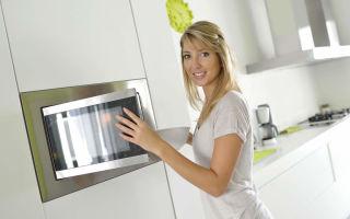 Как быстро отмыть микроволновую печь своими руками