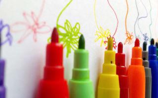 Как самостоятельно отмыть маркер