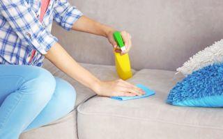 Как убрать запах и отмыть диван от детской мочи