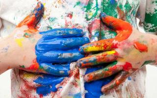 Чем можно быстро отмыть масляную краску