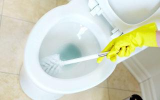 Как очистить унитаз от ржавчины быстро и легко