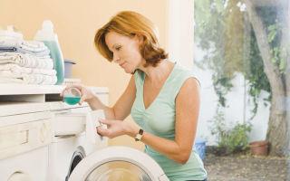 Как почистить стиральную машину от накипи уксусом