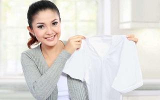 Как правильно отбелить белье в домашних условиях