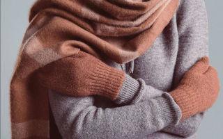 Как самостоятельно постирать кашемировый свитер