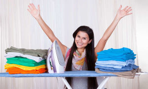 Как гладить постельное белье на гладильной доске и без нее