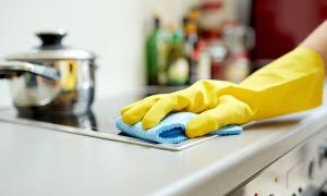 Как самостоятельно отмыть стеклокерамическую плиту от нагара