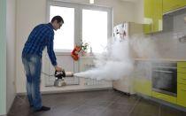 Как убрать запах после пожара в квартире