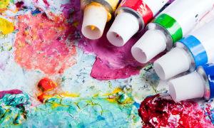 Как самостоятельно отмыть акриловую краску с одежды