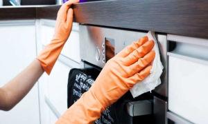 Как самостоятельно отмыть духовку от старого жира и нагара