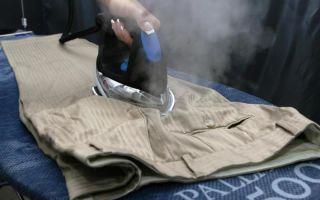 Как правильно гладить брюки самостоятельно