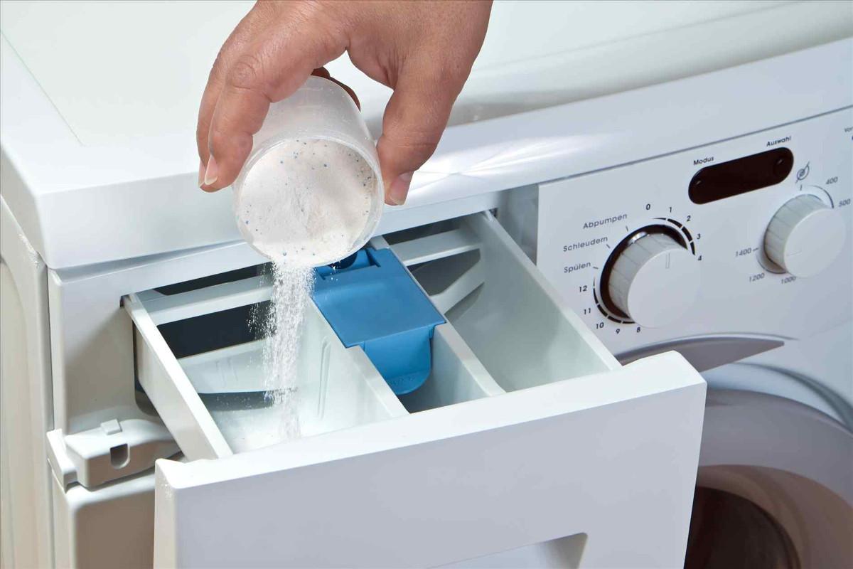 Порошок в стиральной машине