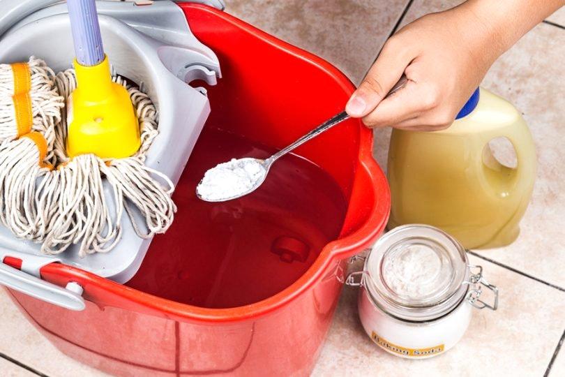 Приготовление моющего раствора