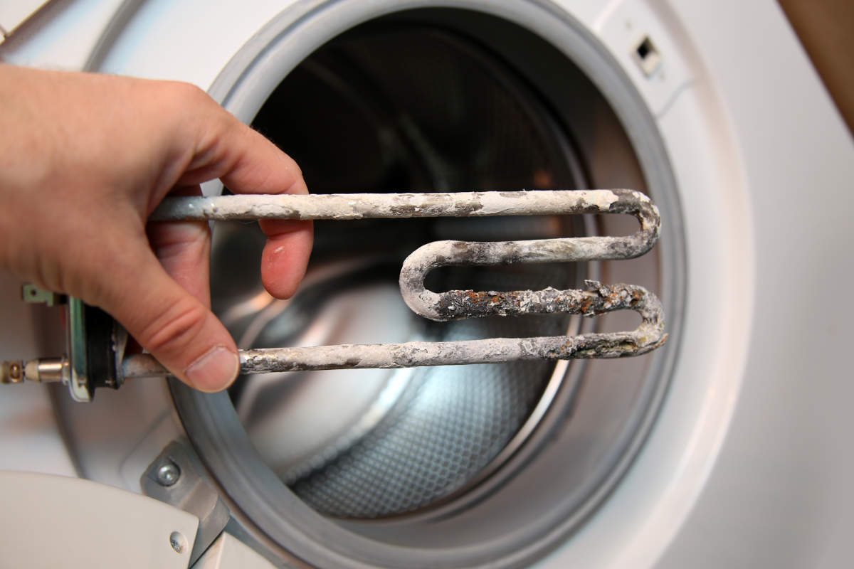 Накипь в стиральной машине