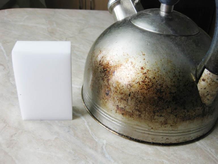 Чайник и губка