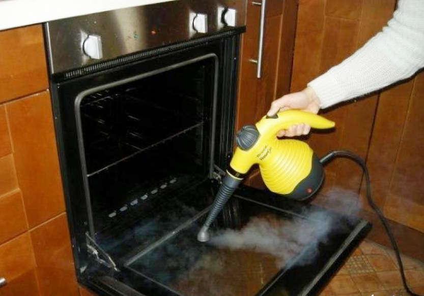 Очистка духовки паром