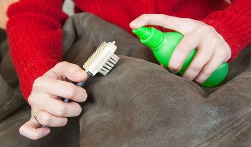 Очистка пятна на куртке