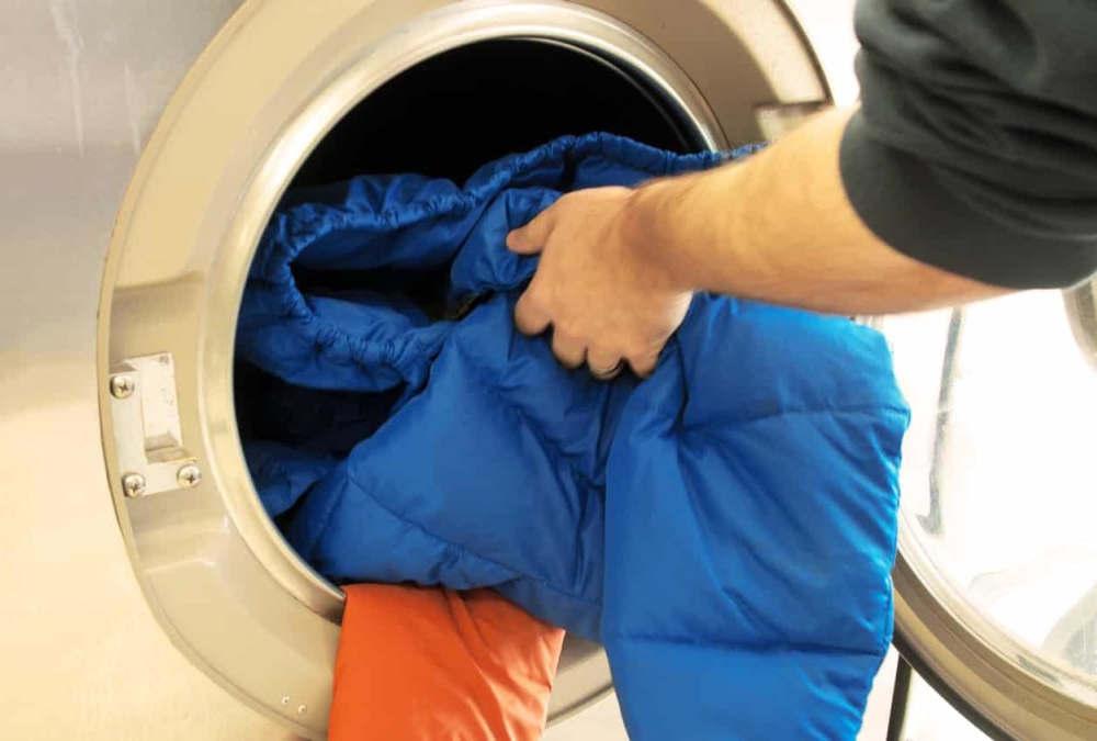 Куртка в стиральной машине