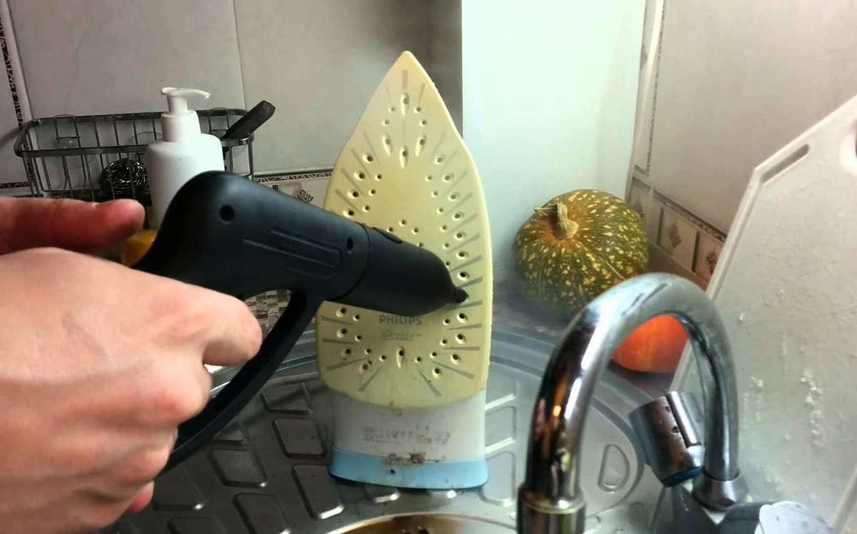 Очистка утюга