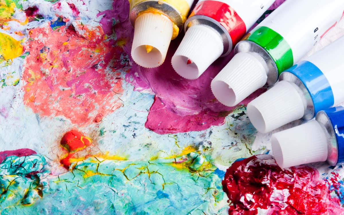 Тюбики краски