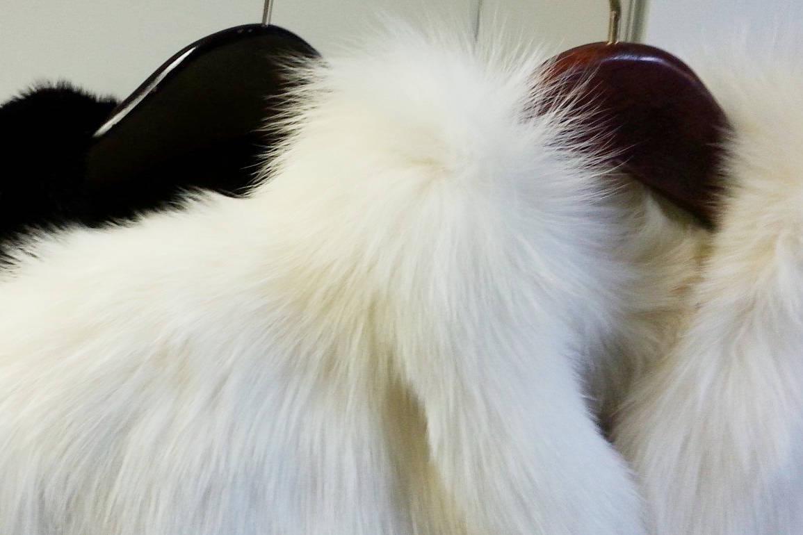 Белая шуба