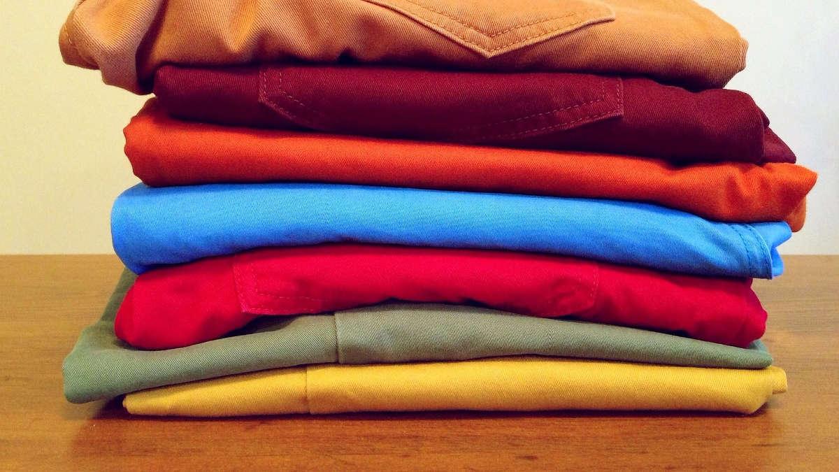 Стопка одежды