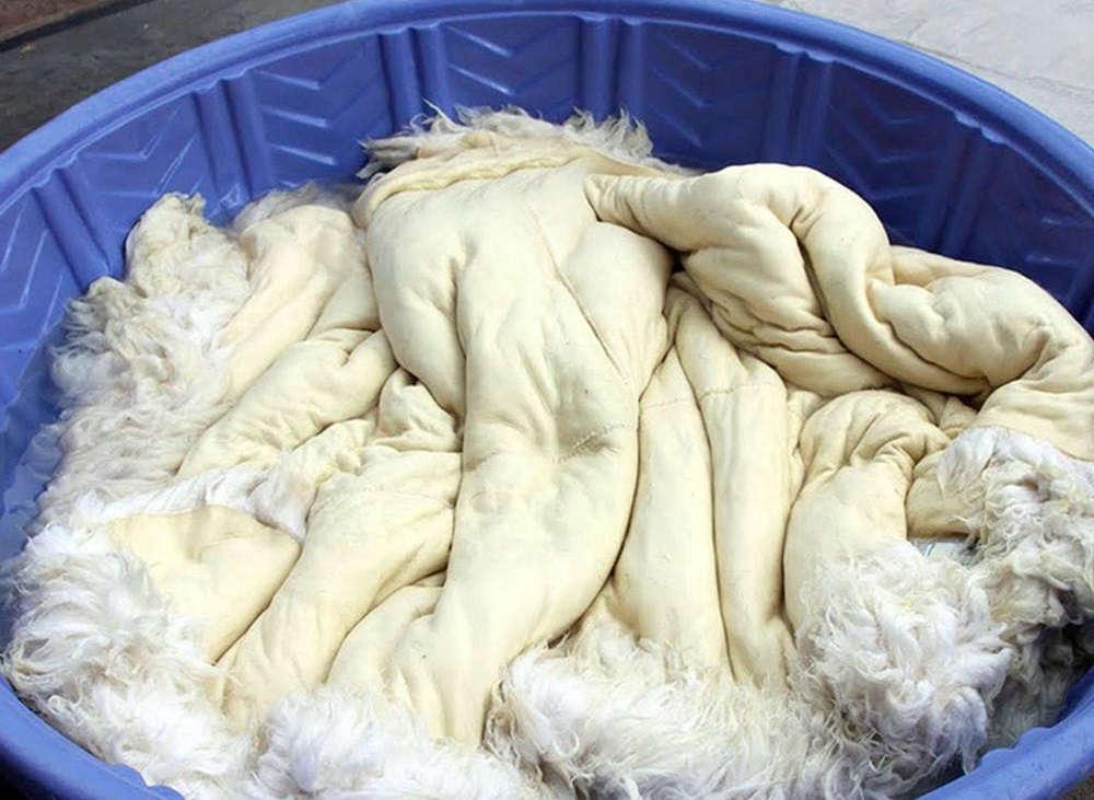 Стирка меховой одежды