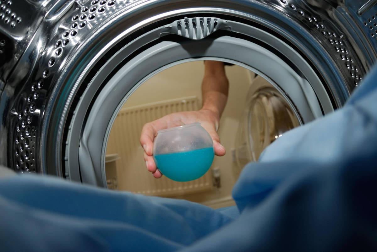 Джинсы в стиральной машине