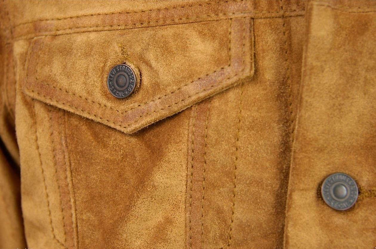 Замшевая куртка