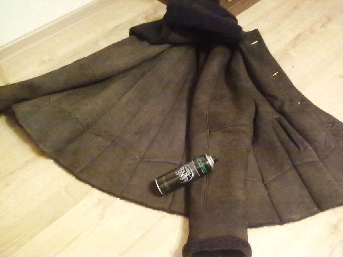 Чистка замшевой куртки