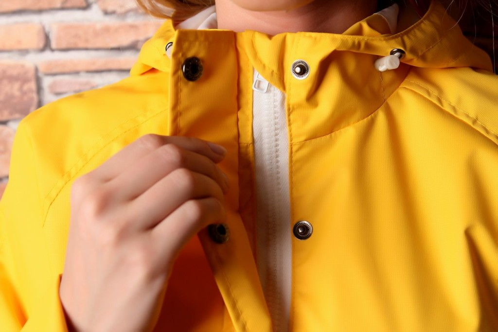 Жёлтая женская куртка