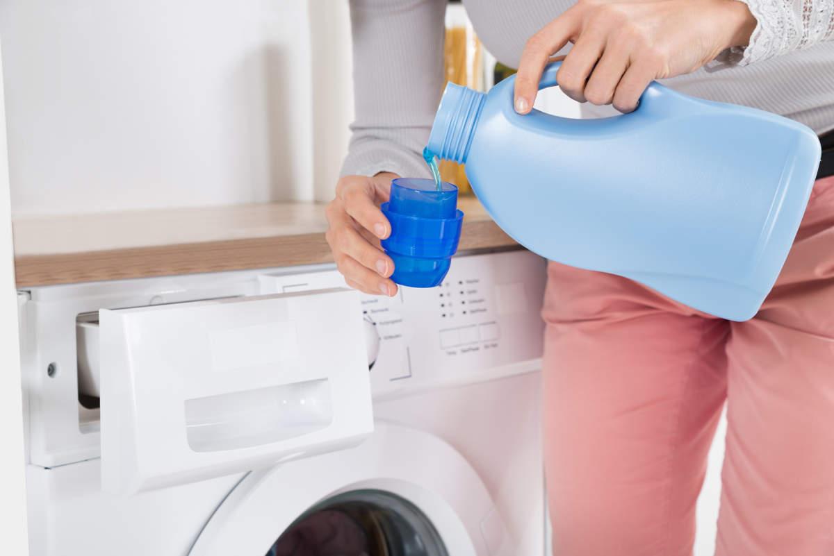 Заправка стиральной машины