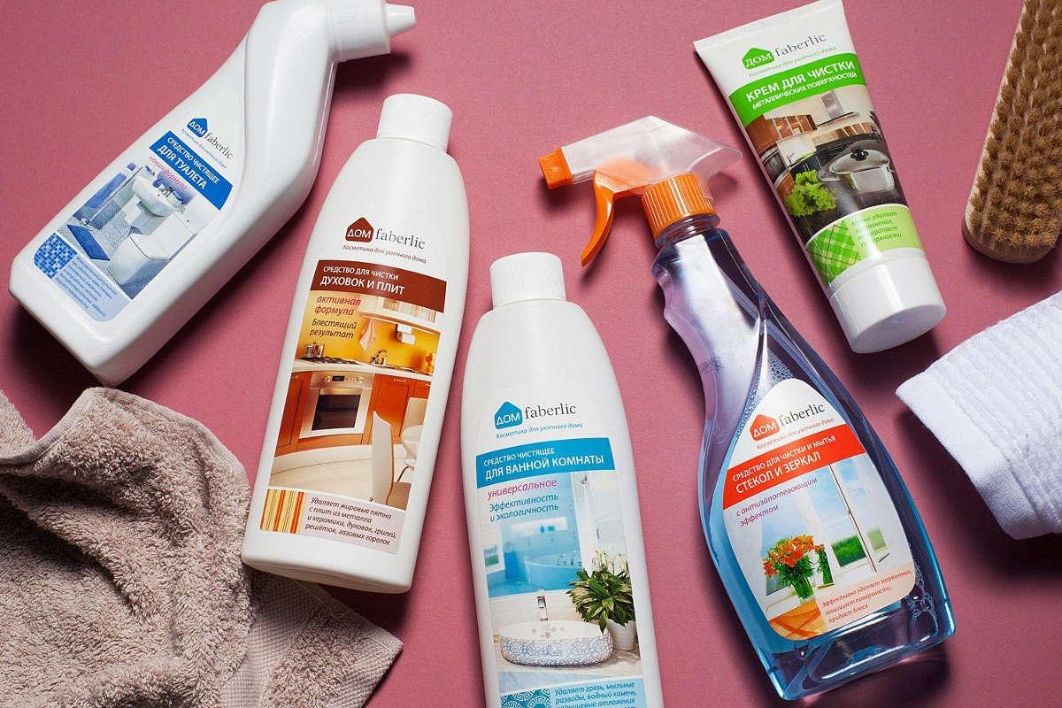 Средства для чистки ванн